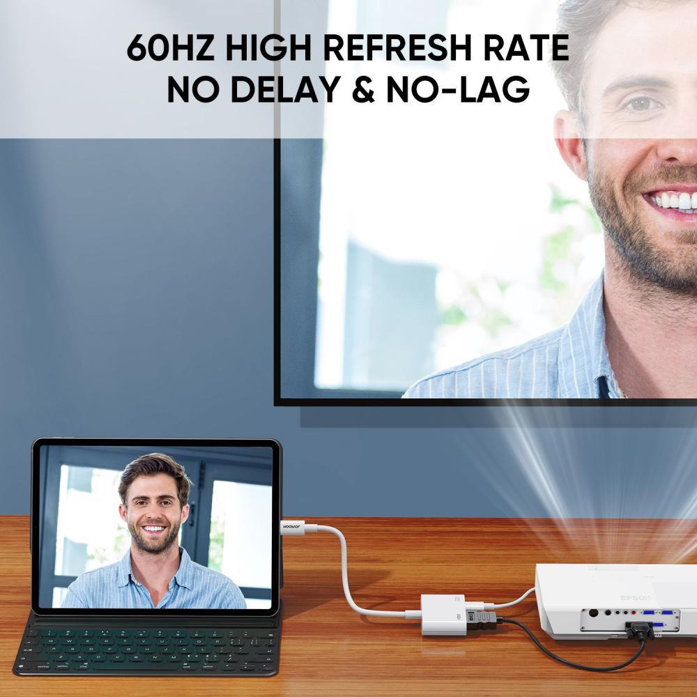 Joyroom S H141 1080p Lightning To Hdmi Converter Adapter (3)