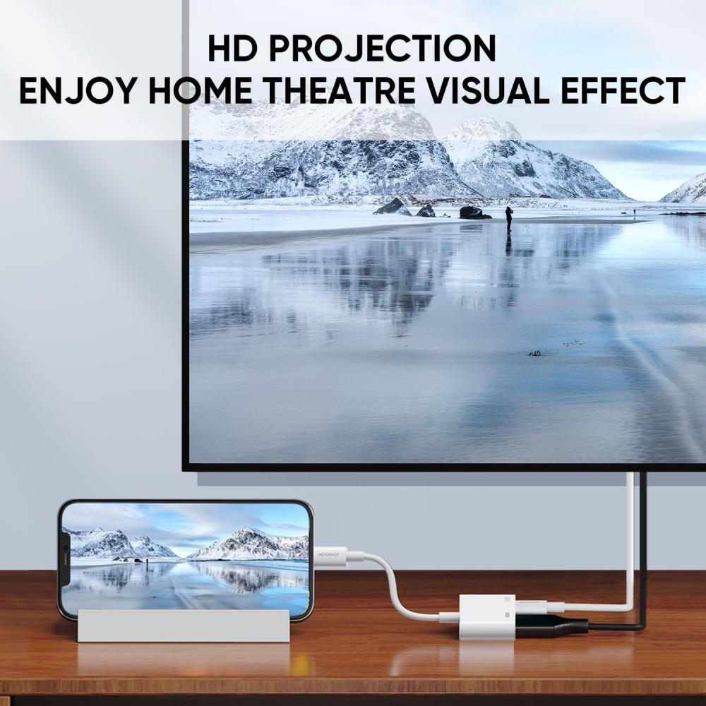 Joyroom S H141 1080p Lightning To Hdmi Converter Adapter (5)