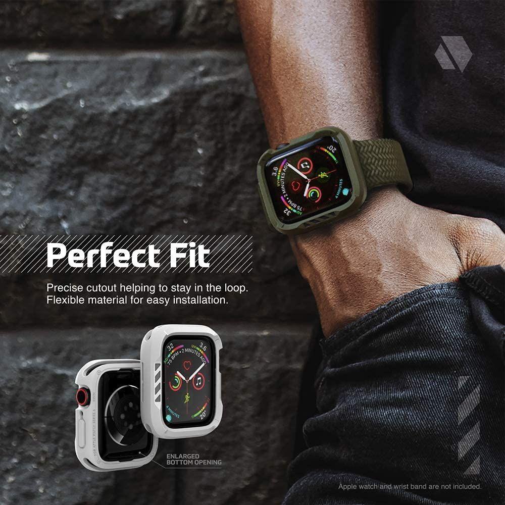 Jtlegend Shockrim Case Apple Watch Series 6 5 4 Se 44mm (4)