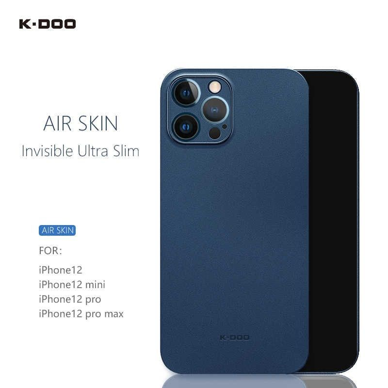 K Doo Air Skin Ultra Slim Back Cover Case For Iphone 12 12 Mini 12 Pro 12 Pro Max (7)