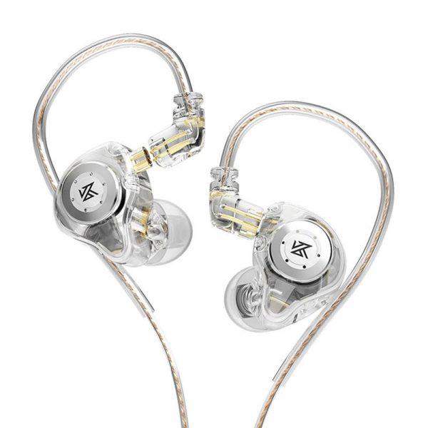 Kz Edx Pro Hi Fi Bass Dual Magnetic Dynamic Earbuds With Mic (1)