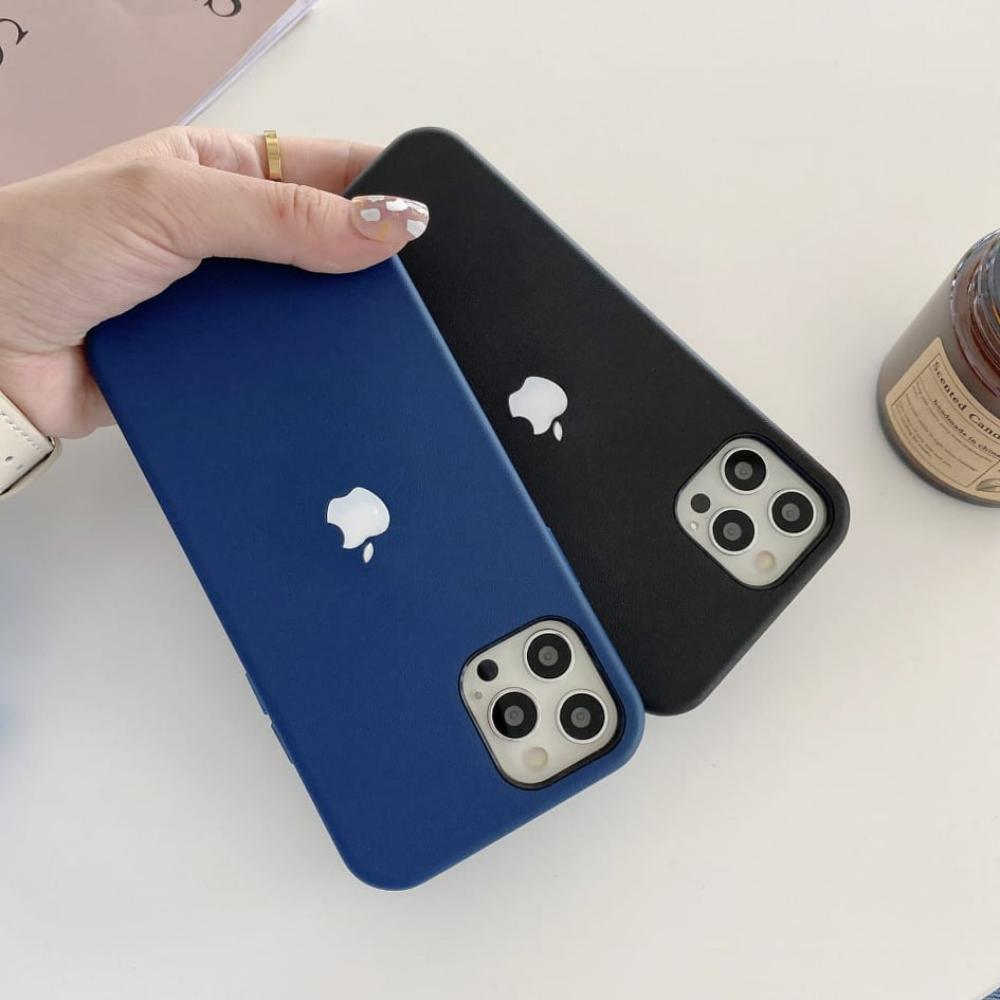Leather Led Case With Magsafe Charging For Iphone 12 12pro 12 Pro Max (4)