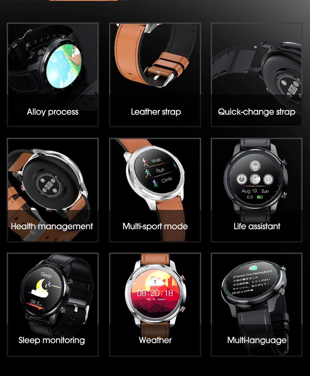 Lemfo Lf26 Smart Watch Ip67 Waterproof (12)