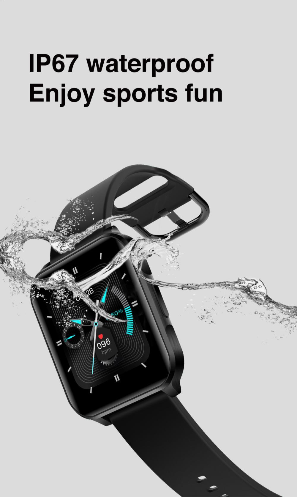 Lenovo S2 Pro Smart Watch Ip67 Waterproof Ips Full Screen (5)