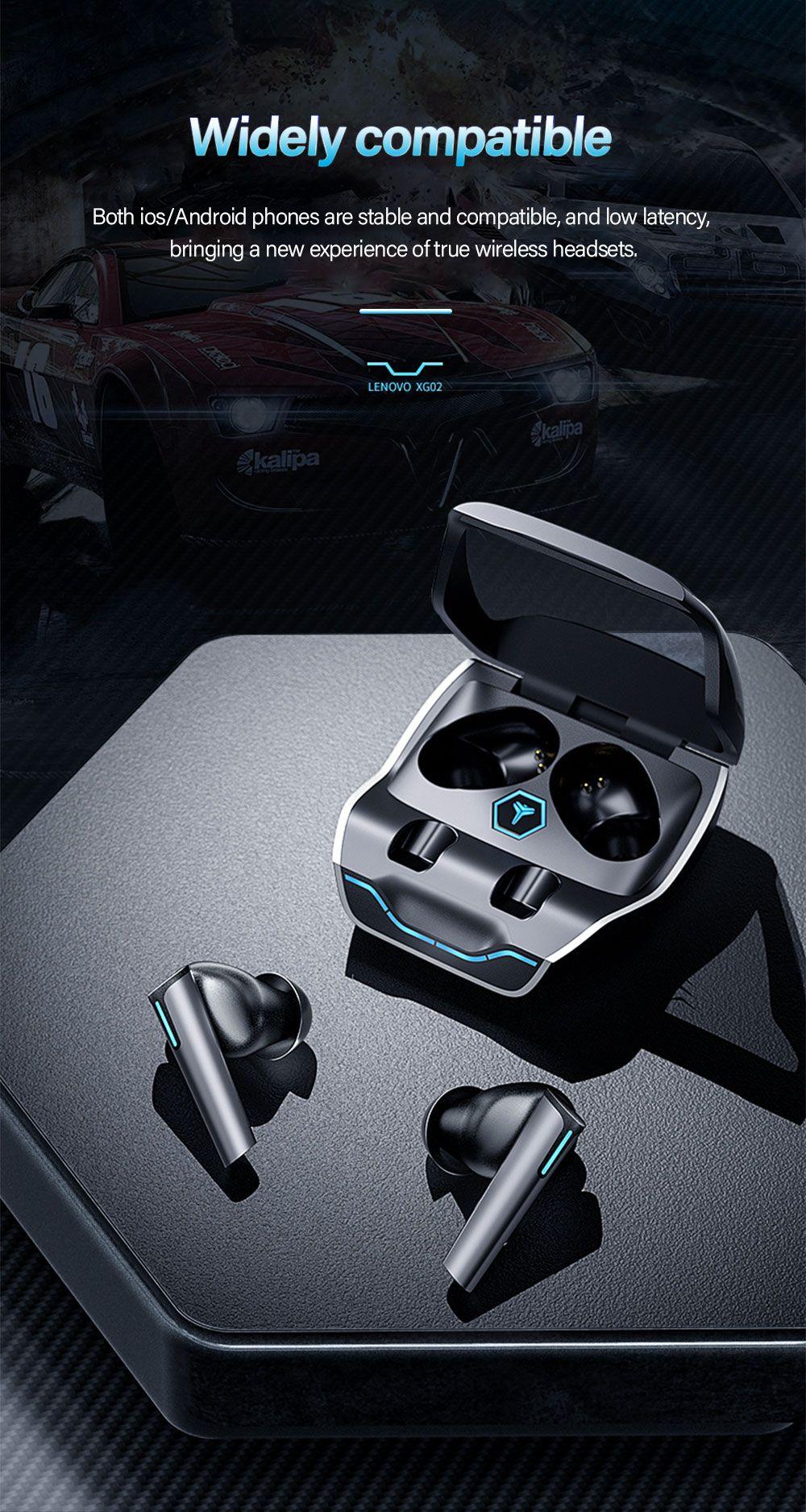 Lenovo Xg02 Wireless Bt5 0 Gaming Earbuds (4)