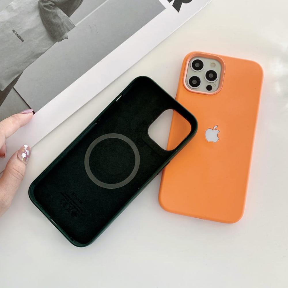 Liquid Silicone Led Case With Magsafe Charging For Iphone 12 12pro 12 Pro Max (4)