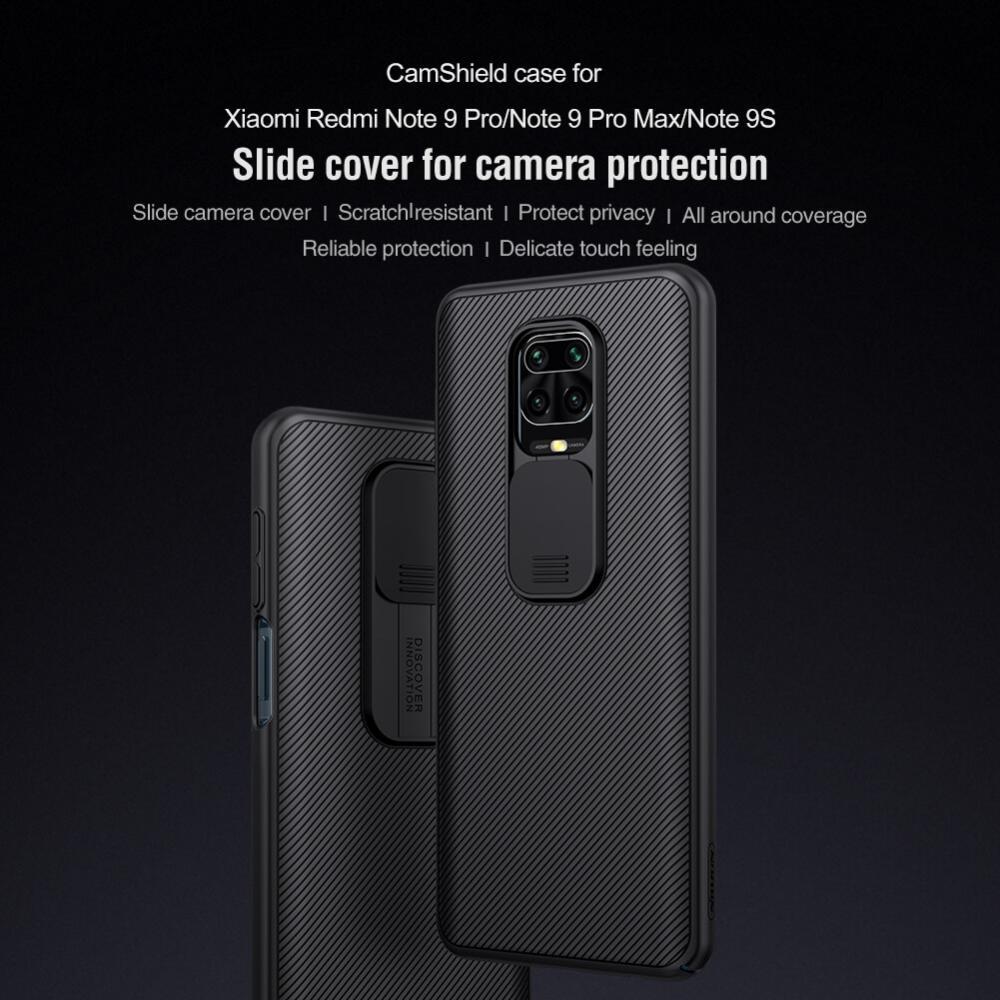 Nillkin Camshield Pro Cover Case For Xiaomi Redmi Note 9 9 Pro 9 Pro Max 10 10 Pro 10 Pr (