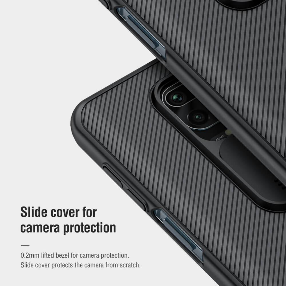 Nillkin Camshield Pro Cover Case For Xiaomi Redmi Note 9 9 Pro 9 Pro Max 10 10 Pro 10 Pr ( (3)