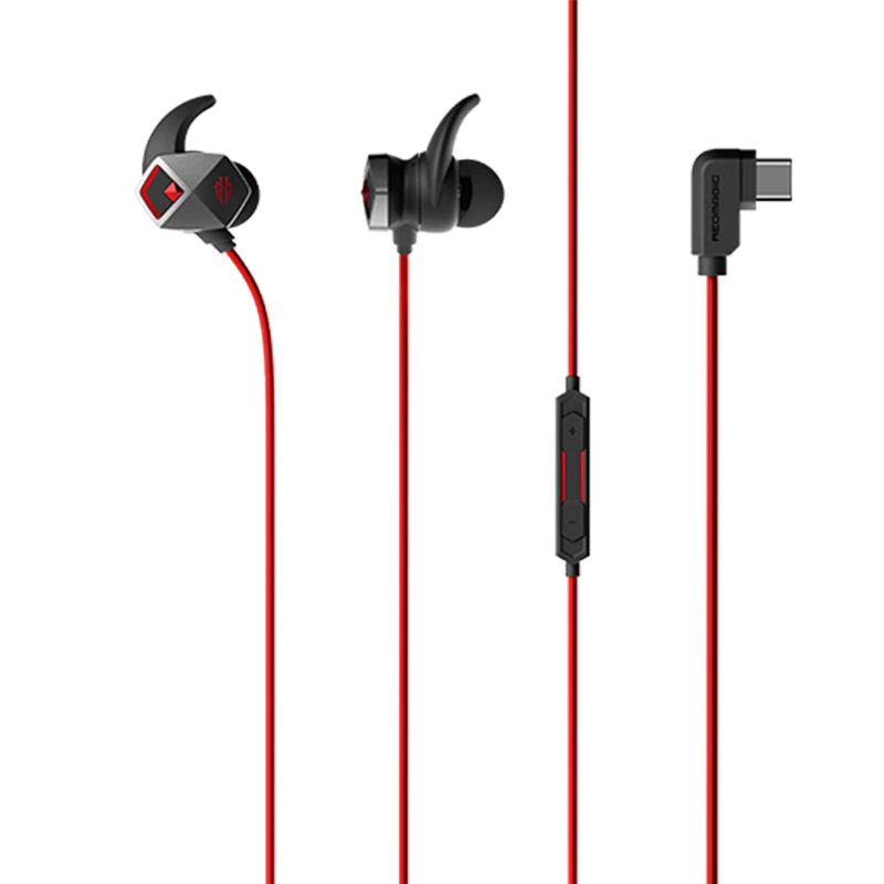 Nubia Red Magic Wired Gaming Earphones Type C Edition (1)
