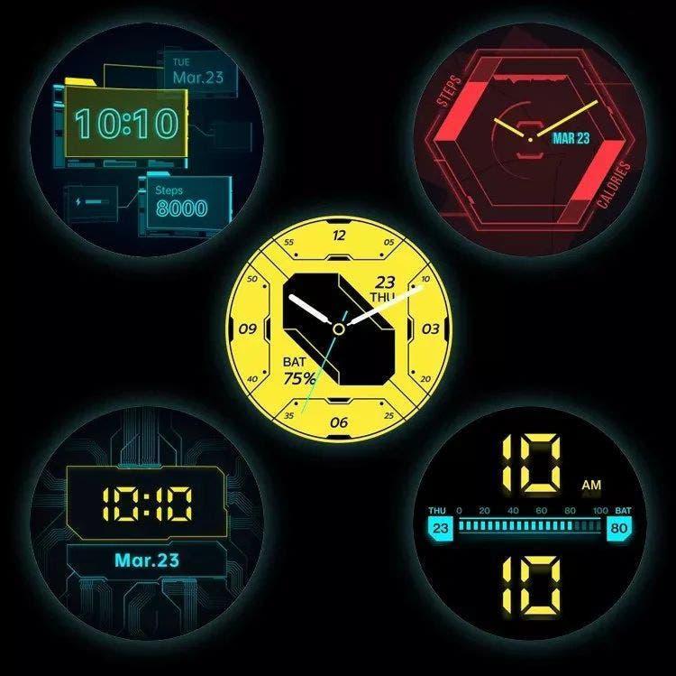 Oneplus Watch Cyberpunk 2077 Limited Edition (2)