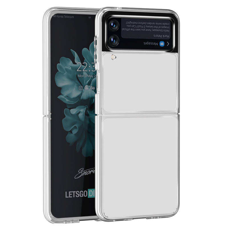 Samsung Galaxy Z Flip3 5g Clear Transparent Case (1)
