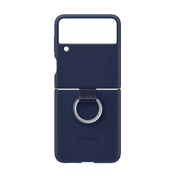 Samsung Galaxy Z Flip3 5g Silicone Cover With Ring (5)