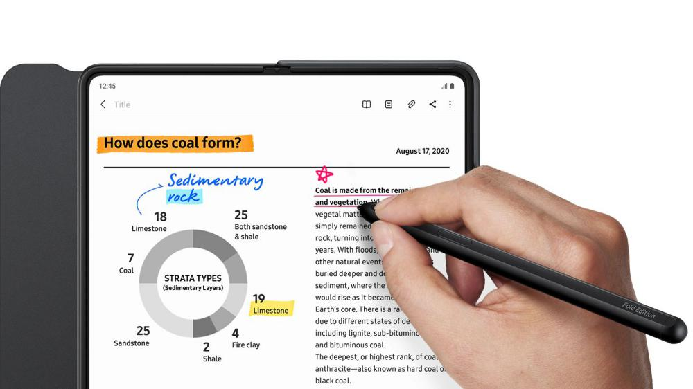 Samsung Galaxy Z Fold3 5g Flip Cover With Pen (3)