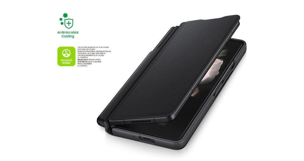 Samsung Galaxy Z Fold3 5g Flip Cover With Pen (4)