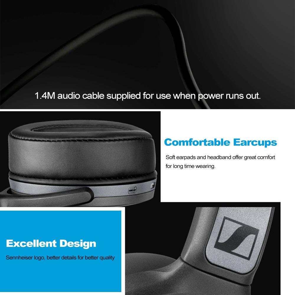 Sennheiser Hd 4 40 Around Ear Bluetooth Wireless Headphones (1)