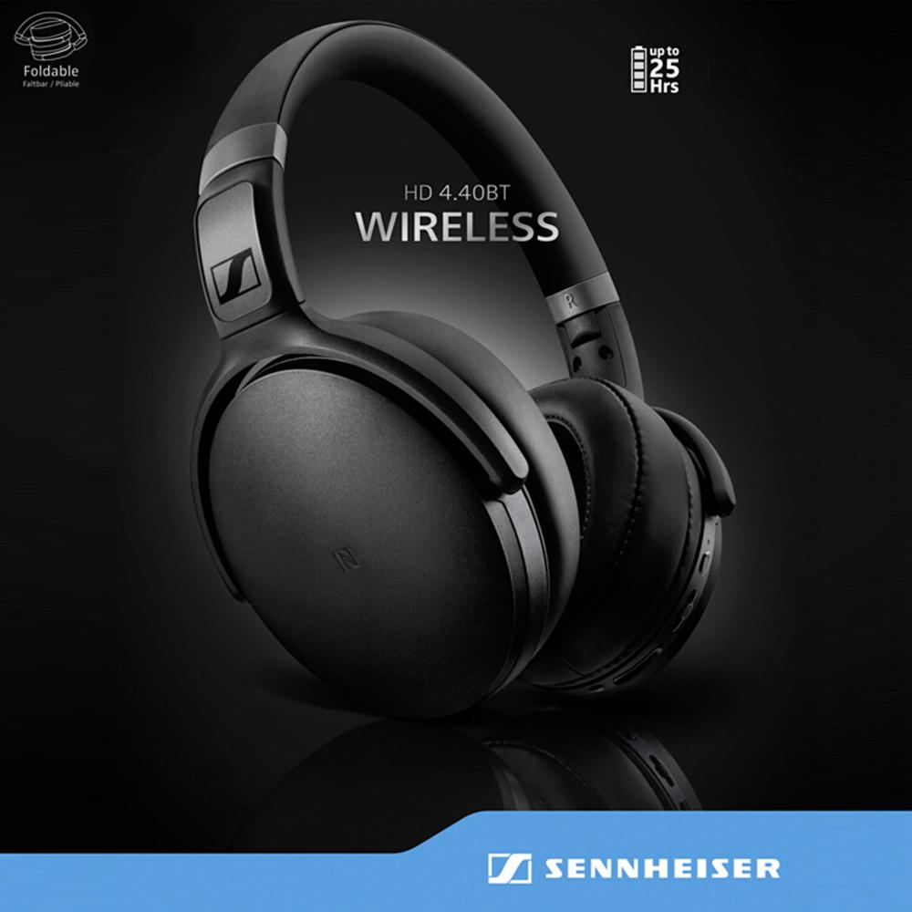 Sennheiser Hd 4 40 Around Ear Bluetooth Wireless Headphones (5)