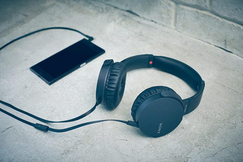 Sony Mdr Xb550ap Extra Bass Headphones (2)
