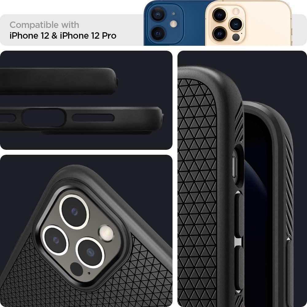 Spigen Liquid Air Case For Iphone 12 Iphone 12 Pro (2)