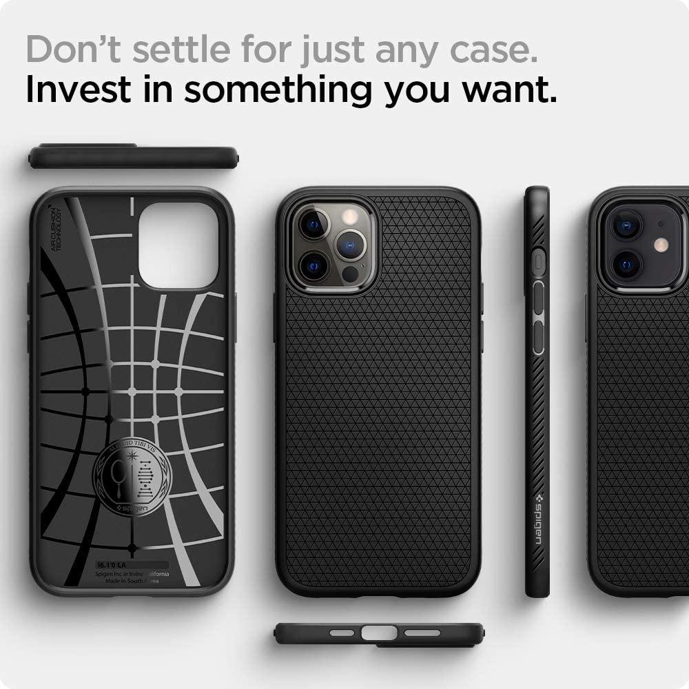Spigen Liquid Air Case For Iphone 12 Iphone 12 Pro (4)