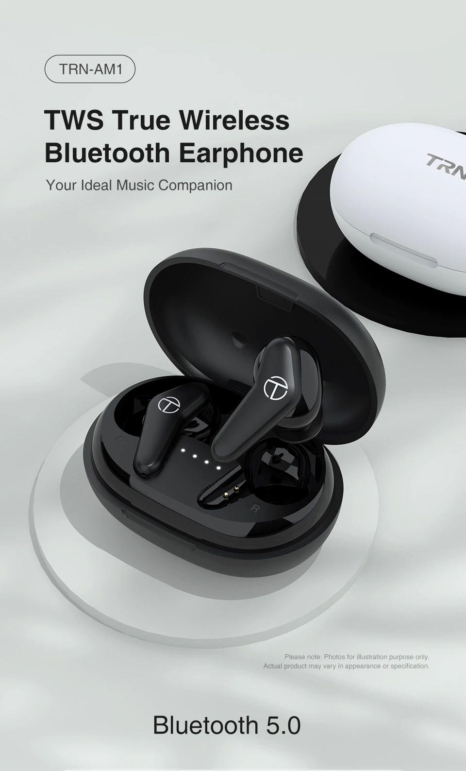 Trn Am1 Tws Dynamic Earbuds Bluetooth 5 0 (2)