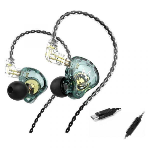 Trn Mt1 Hi Fi 1dd Dynamic Earphone Type C Version