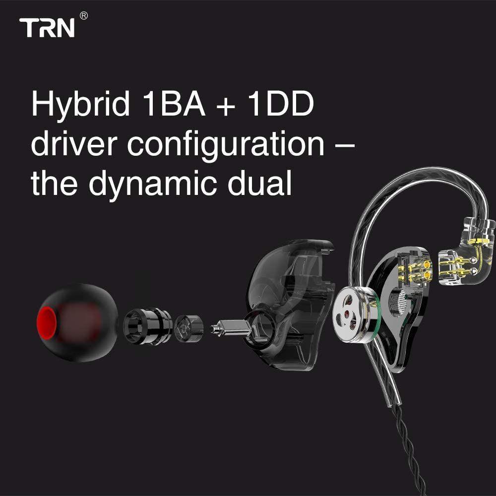 Trn St1 1ba1dd In Ear Buds Earphones (2)