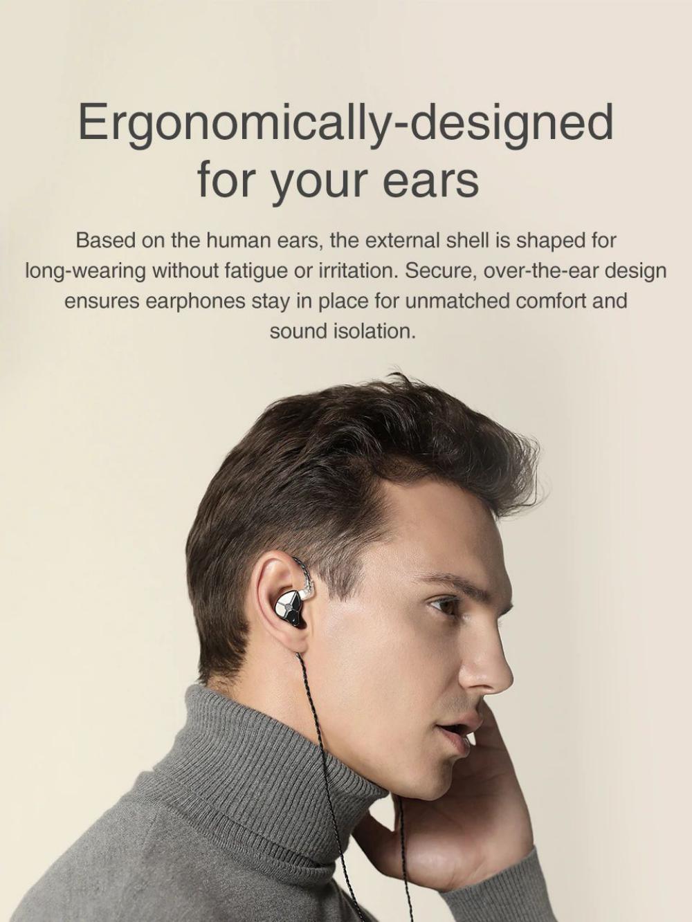 Trn St1 1ba1dd In Ear Buds Earphones (4)