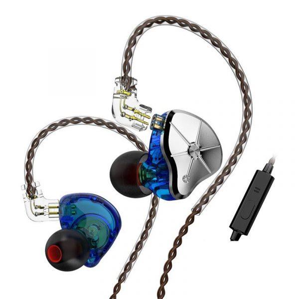 Trn Stm 1dd1ba Hybrid Driver Hifi In Ear Earphones (4)