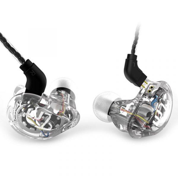 Trn V10 2dd With 2ba Hybrid In Ear Earphone (4)