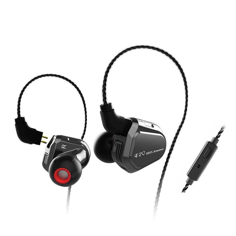 Trn V20 Hybrid In Ear Earphone (5)