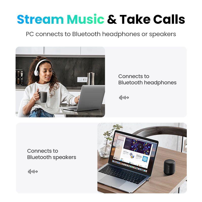 Ugreen Usb Bluetooth 5 0 Dongle Adapter (1)