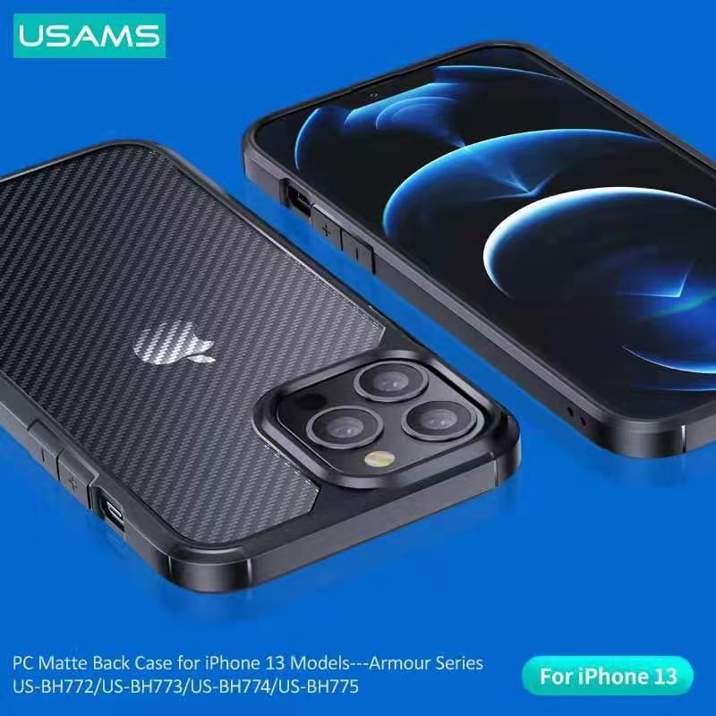 Usams Armour Series Pc Matte Back Case For Iphone 13 Pro 13 Pro Max (1)