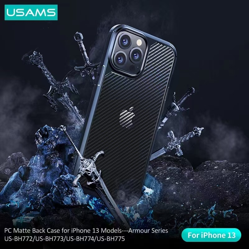 Usams Armour Series Pc Matte Back Case For Iphone 13 Pro 13 Pro Max (2)