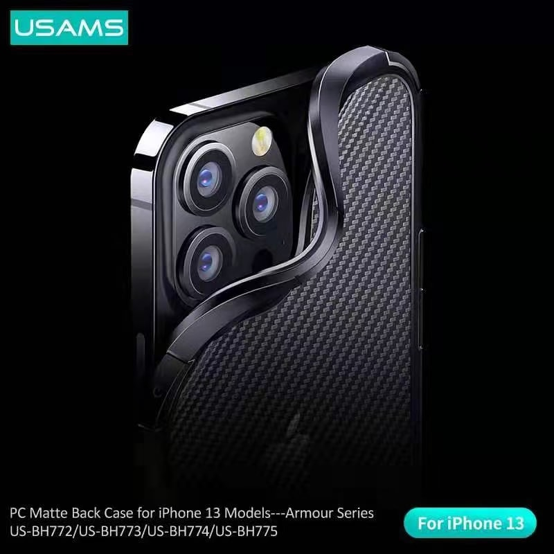 Usams Armour Series Pc Matte Back Case For Iphone 13 Pro 13 Pro Max (3)