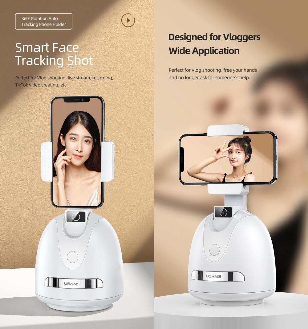 Usams Us Zb239 Smart Face Tracking Phone Holder (4)