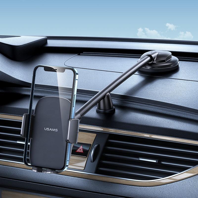 Usams Zj065 Flexible Car Portable Stand Dashboard Mobile Phone Holder (2)