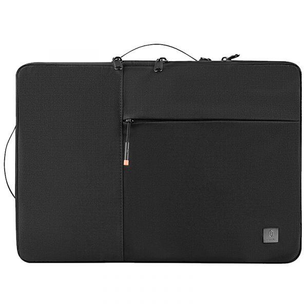 Wiwu Alpha Double Layer Sleeve Waterproof Computer Compartment Handbag (4)