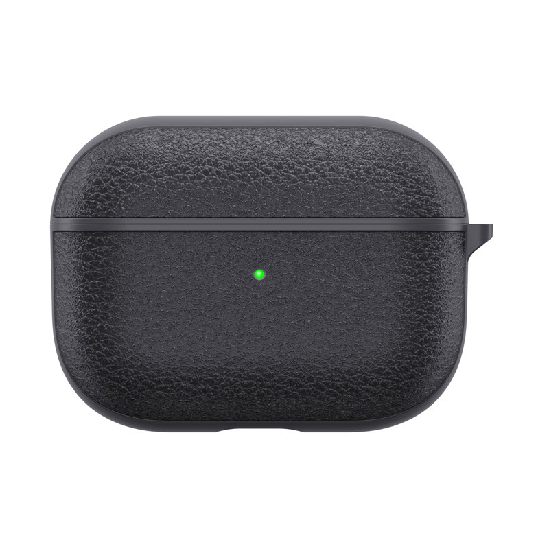 Wiwu Calfskin Genuine Leather Case For Airpods Pro (4)