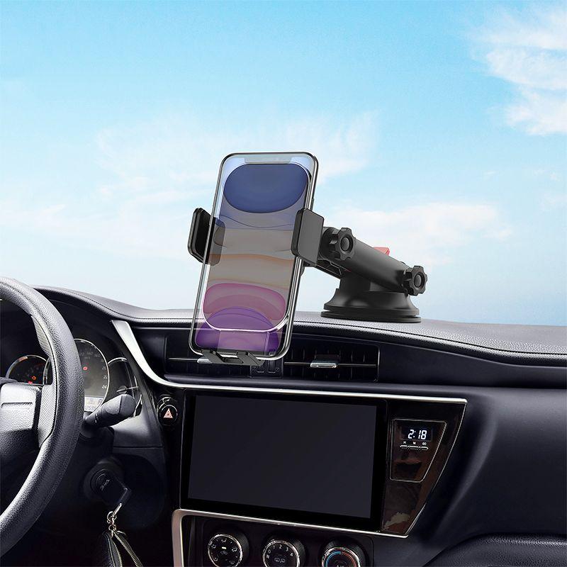 Wiwu Liberator 15w Wireless Charging Car Mount (1)