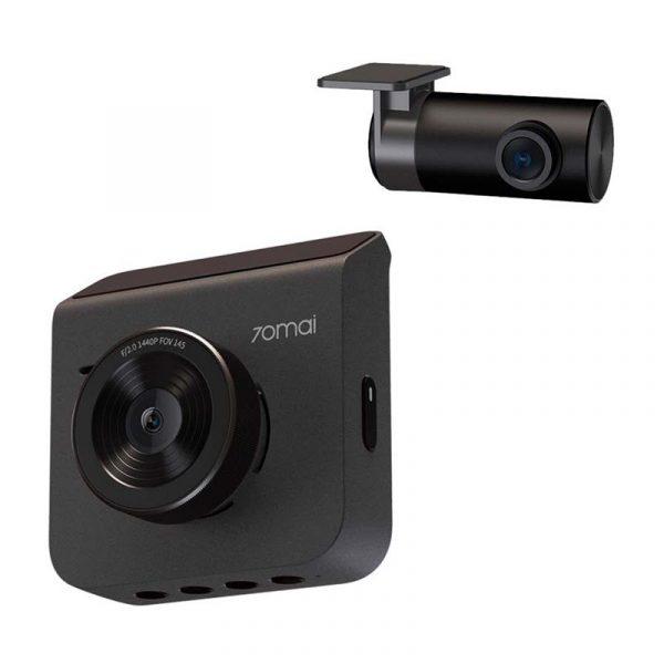 Xiaomi 70mai A400 Dash Cam Car Recorder 1440p Superior Night Vision With Rc06 Rear Camera Set (2)