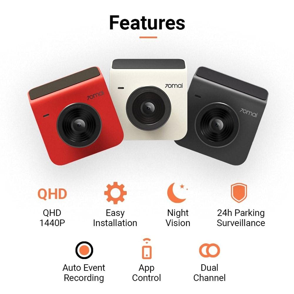 Xiaomi 70mai A400 Dual Channel Car Dash Cam (2)