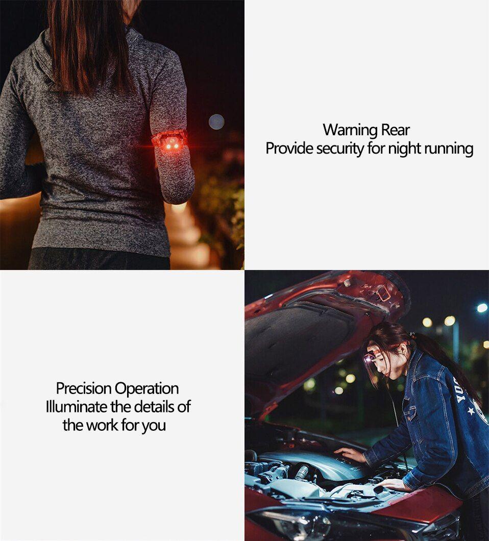 Xiaomi Beebest Led Headlight Portable Outdoor Cree Led Flash Light (2)