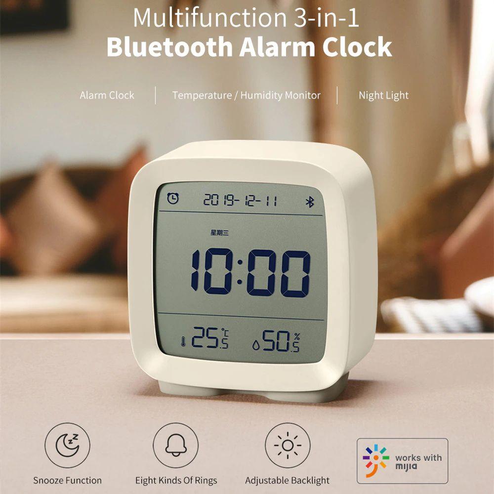 Xiaomi Youpin Qingping Mijia Bluetooth Alarm Clock Alarm Clock Temperature (4)