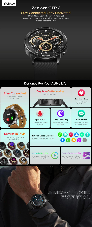 Zeblaze Gtr 2 Smartwatch (1)