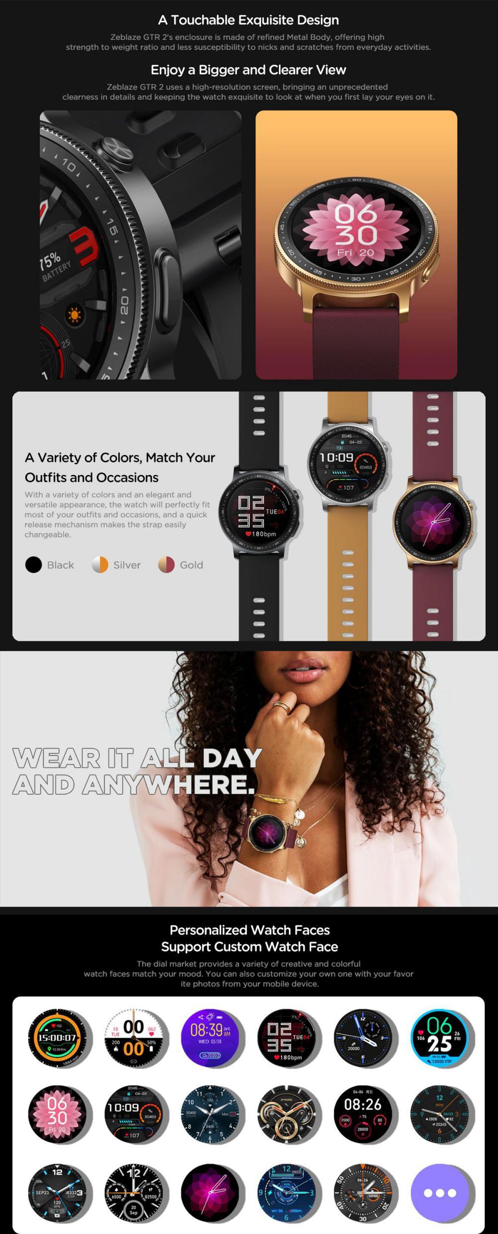Zeblaze Gtr 2 Smartwatch (2)