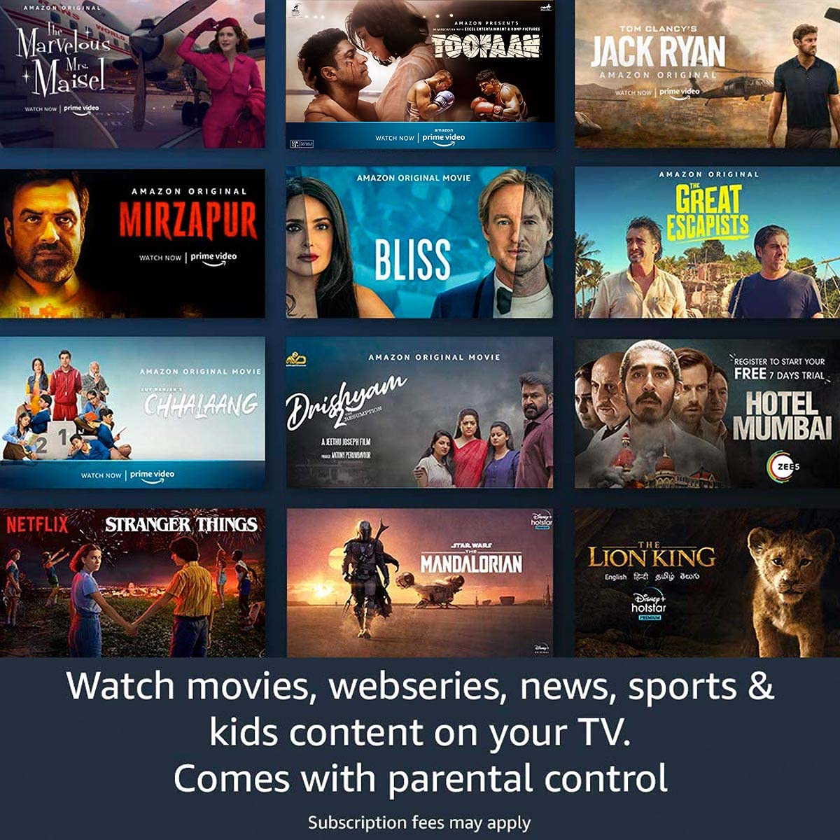Amazon Fire Tv Stick 3rd Gen 2021 With All New Alexa Voice Remote (4)