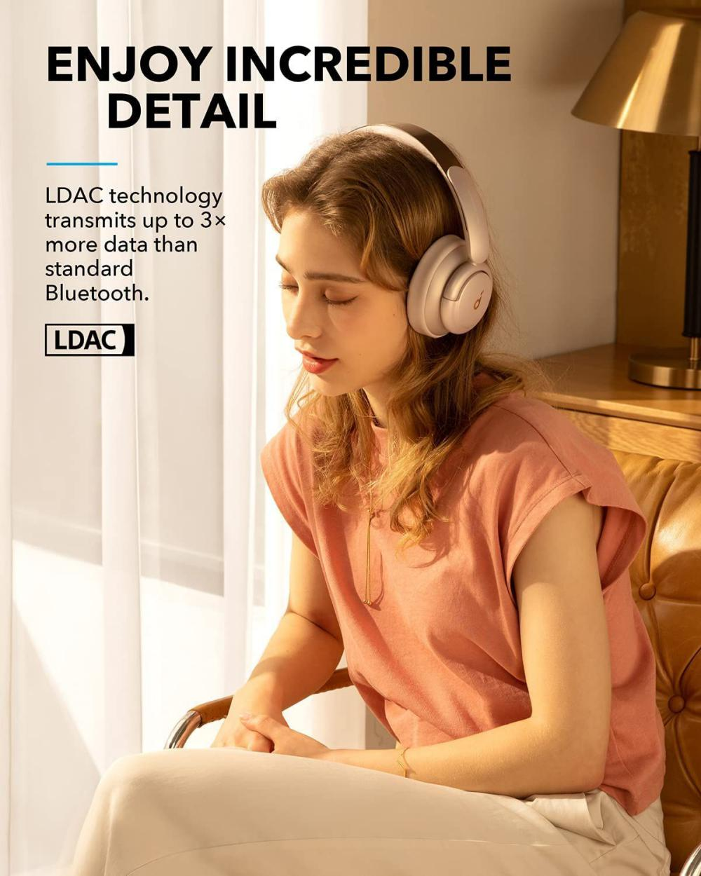 Anker Life Q35 Multi Mode Active Noise Cancelling Headphones Frosted Pearl (2)