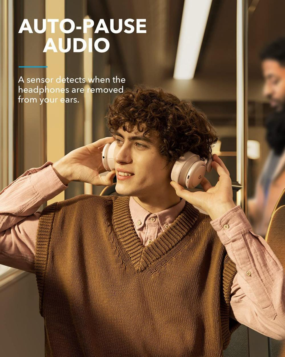 Anker Life Q35 Multi Mode Active Noise Cancelling Headphones Frosted Pearl (5)