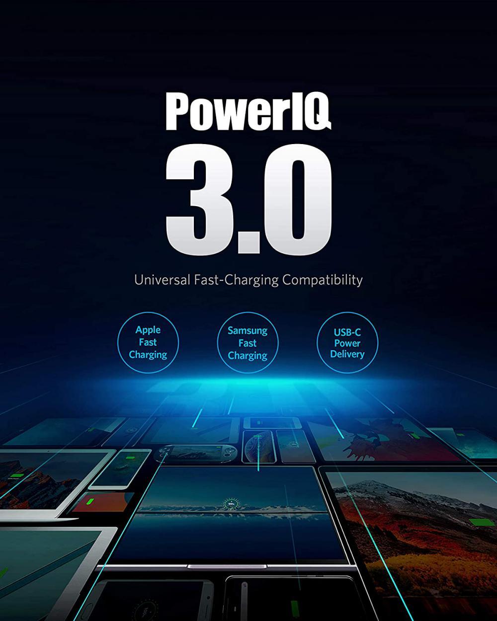 Anker Powerport Iii Duo 36w 2 Port Poweriq 3 0 Usb C Charger (4)