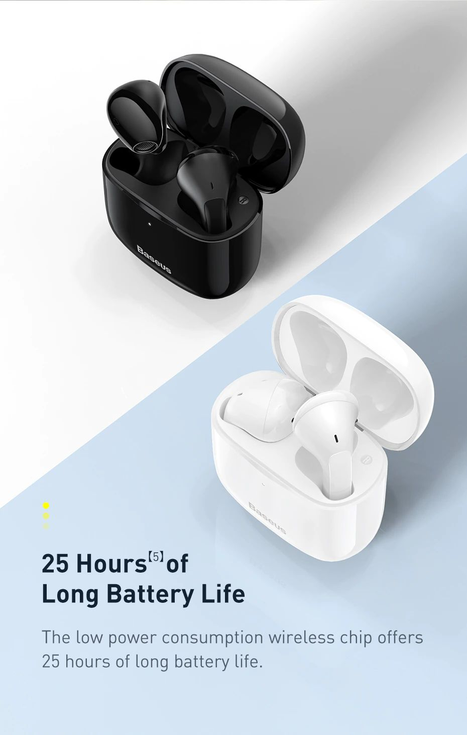 Baseus Bowie E3 Bluetooth Wireless Earphones (5)